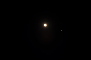 Jupiter and Moon Aug 6th, 2009