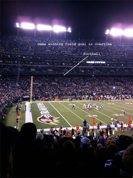 Ravens vs Steelers - November 29th, 2009