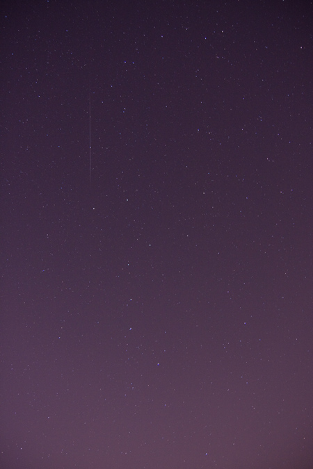 Sporadic Meteor - December 24th, 2009 2:21 AM EST