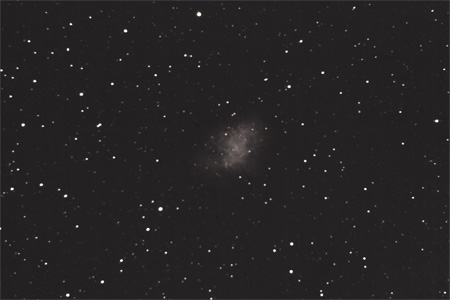 Crab Nebula - November 29th, 2009