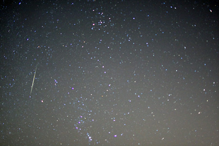 Geminid Meteor Shower - December 11th, 2009