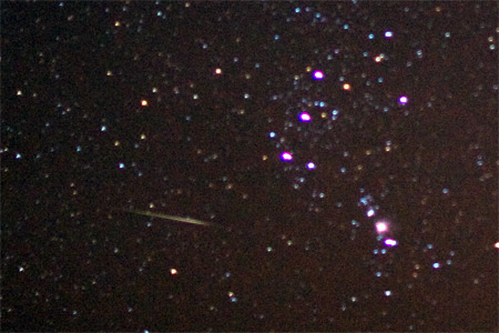 Geminid Meteor - December 11th, 2009