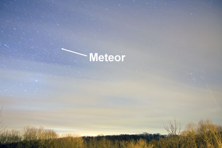 Geminid Meteor Shower - December 14th, 2009
