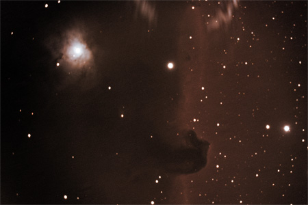 Horse Head Nebula - December 16th, 2009