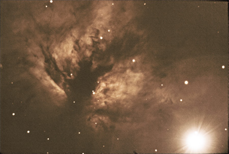 Flame Nebula - December 20th, 2009