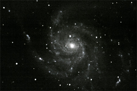 M101 Pin Wheel Galaxy - January 9th, 2010