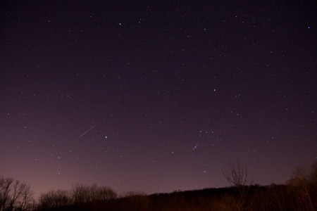 Sporadic Meteor - January 10th, 2010