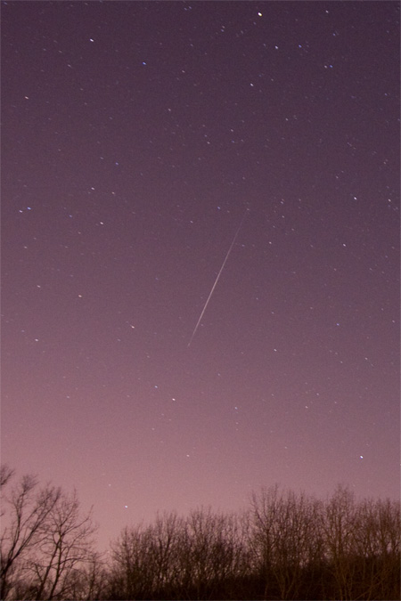 Sporadic Meteor - January 10th, 2009 4:20 AM