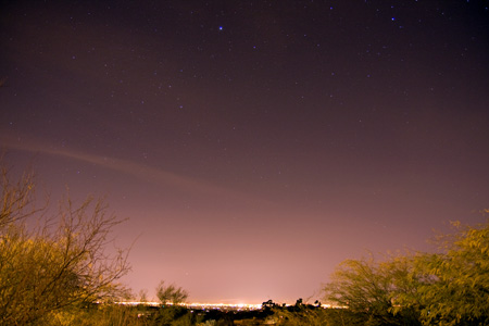 Tucson Skyline - February 5th, 2010