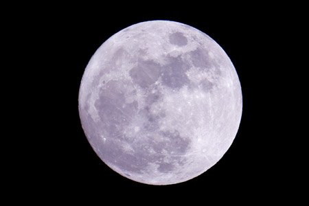 Full Moon - April 27, 2010