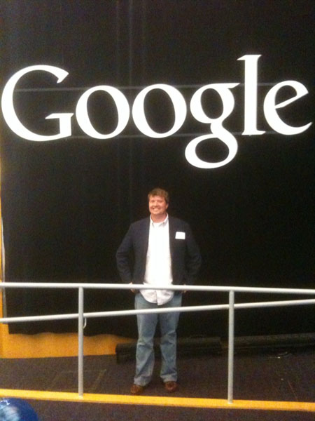 Mike at Google Head Quarters - April 22, 2010