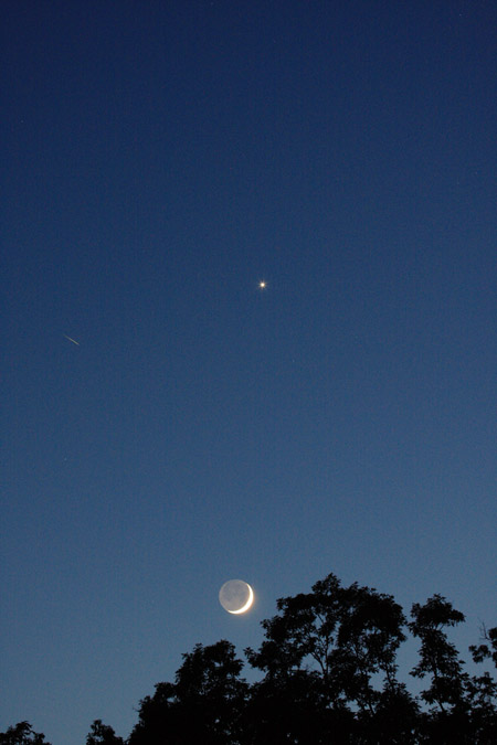 Venus and New Moon