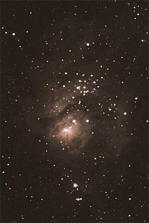 Lagoon Nebula - M8 Core
