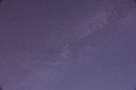 Milkyway Surrounding Deneb - July 4th, 2010 1:52 AM