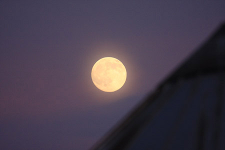 Full Beaver Moon - Lancaster November 20th, 2010