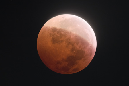 Lunar Eclipse Phase 9 - December 21st, 2010 4:15 AM EST