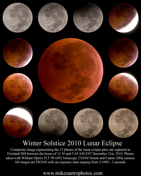 Lunar Eclipse - December 21st, 2010