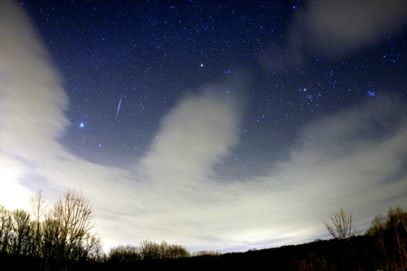 Geminid Meteor Shower - December 15th, 2010