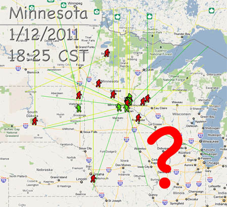 01/12/2010 - Minnesota Fireball