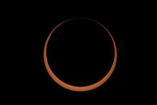 Totality of May 20th 2012 Solar Eclipse