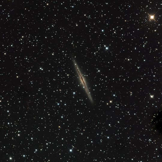 Galaxy NGC 891 - November 13th, 2012 - CLICK TO ENLARGE