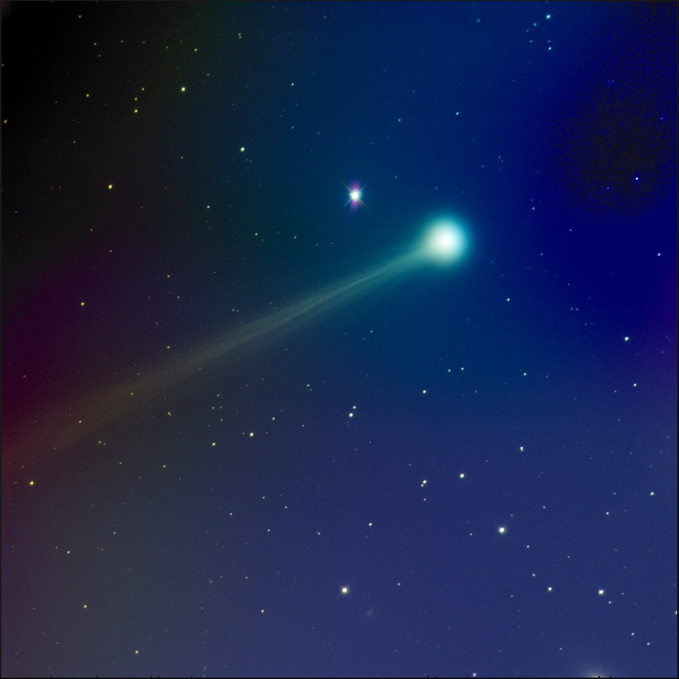 Comet ISON in outburst! Brightens a magnitude or more ...