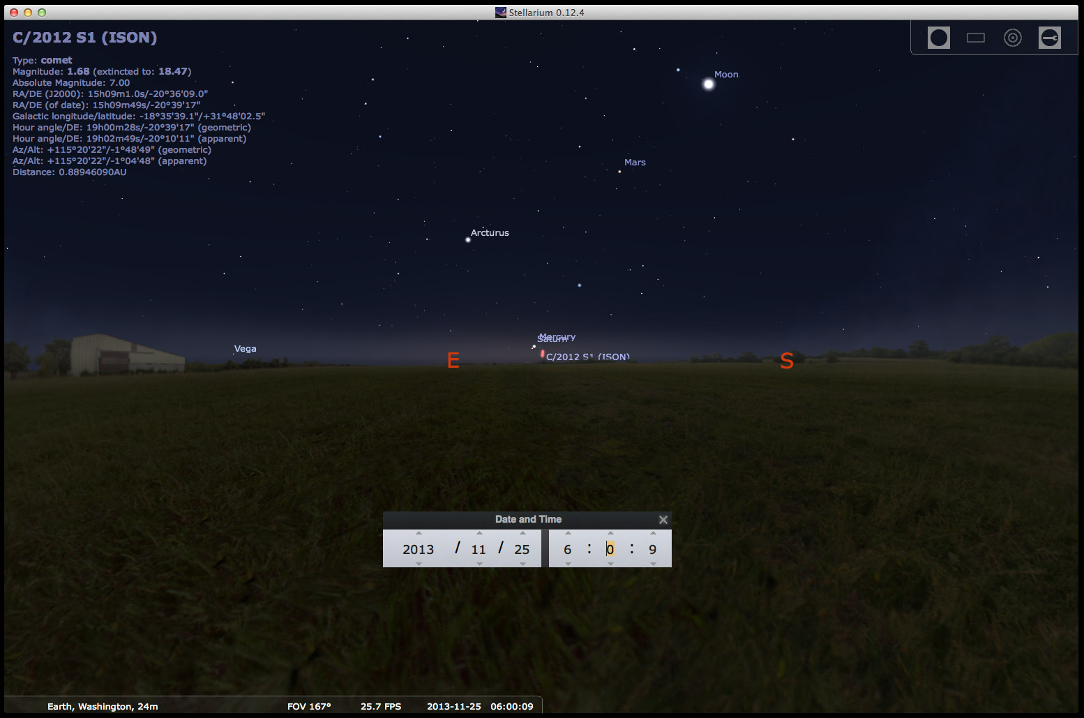 Comets & Meteors - Mike's Astro Photos
